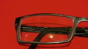 Eyeglasses after Window Cloth