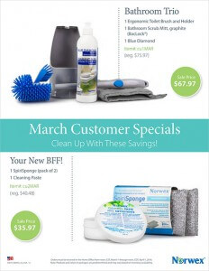 March Customer Specials